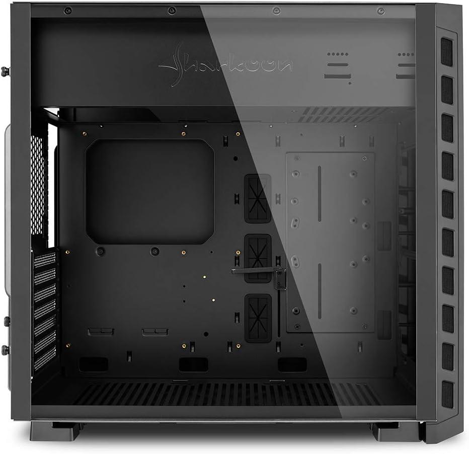 Sharkoon Night Shark Lite Pc Case Black Computers Accessories
