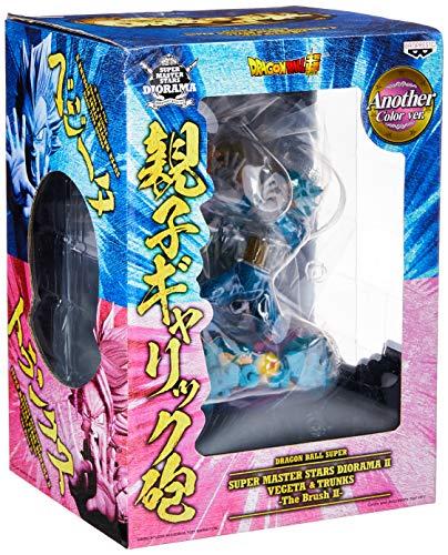Action Figure - Dragon Ball Super - Super Master Star Diorama - Vegeta&trunks Bandai Banpresto Multicor