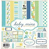 Carta Bella Paper Company CB-BMB27016 Baby Mine Boy Collection Scrapbooking Kit
