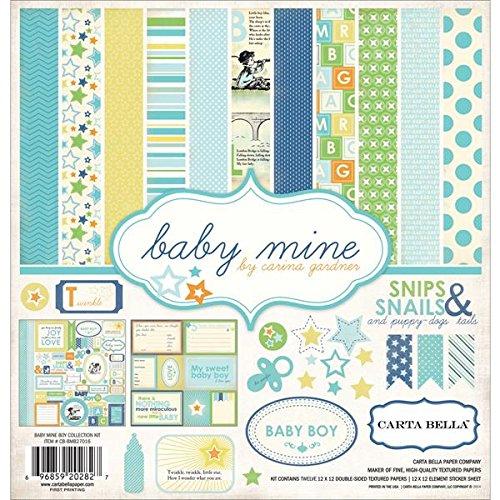 Carta Bella Paper Company Baby Mine Boy