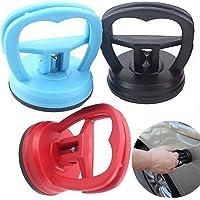 Liuer 3PCS Ventosa Coche Abolladuras Kit Reparacion Moviles Ventosas Extractoras de Pantalla LCD Herramientas(Azul…