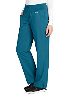 532a03469ca Grey's Anatomy 4-Pocket Yoga Knit Pant for Women - Modern Fit Medical Scrub  Pant
