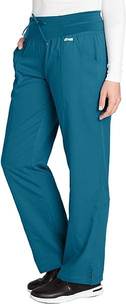 Amazon.com: Greys Anatomy 4-Pocket Yoga Knit Pant for Women ...