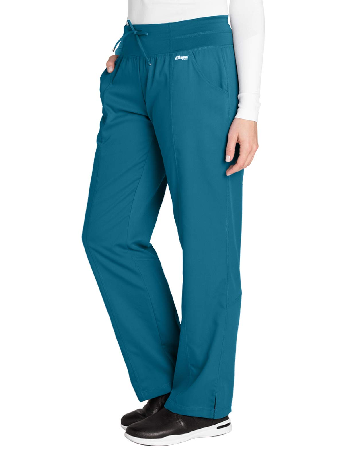 Grey's Anatomy Active 4276 Yoga Pant Bahama 2XL Petite