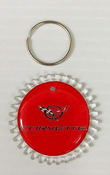 EzInstall C4 Chevy Corvette - Llavero y Anilla con Logotipo ...