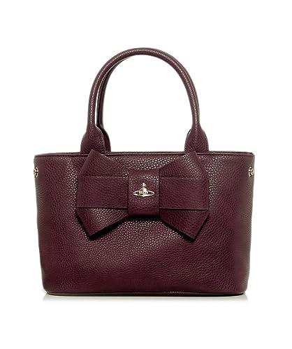 572cbf63b6 Vivienne Westwood Accessories Women's Tote Bag Burgunderrot: Amazon ...