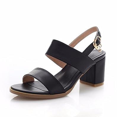 Chaussures Des Avec De Talon Simple Sandales Femme wOtTwE