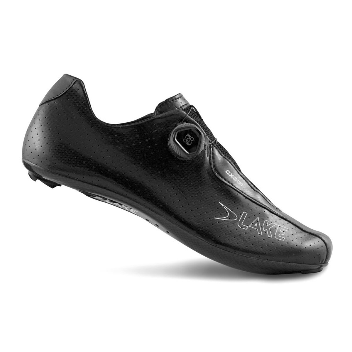 湖cx301 Cycling Shoe – Wide – Men 's B06XKZCKJN 47|ブラック ブラック 47