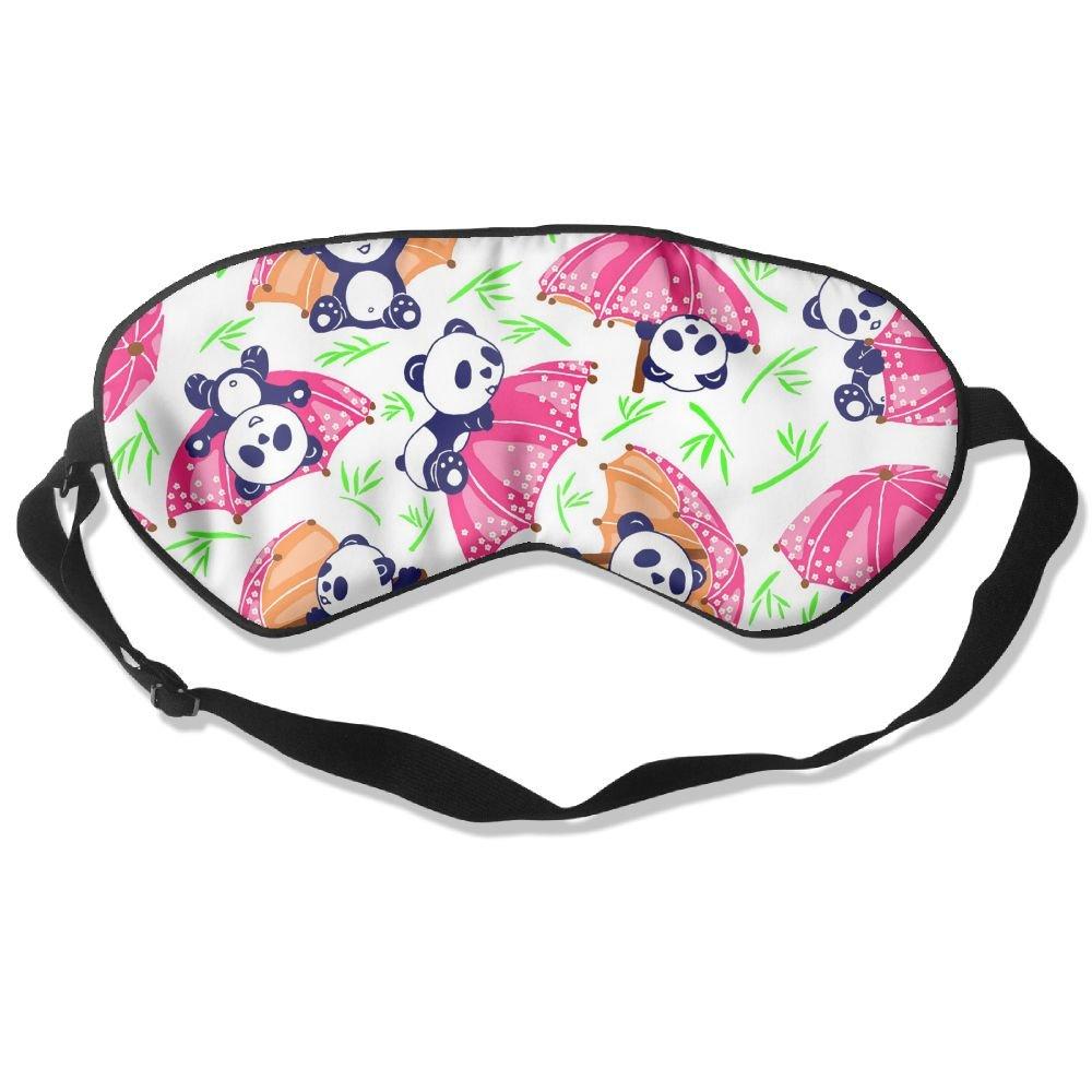 Sleep Mask Fun Panda Eye Cover Blackout Eye Masks,Soothing Puffy Eyes,Dark Circles,Stress,Breathable Blindfold For Women Men