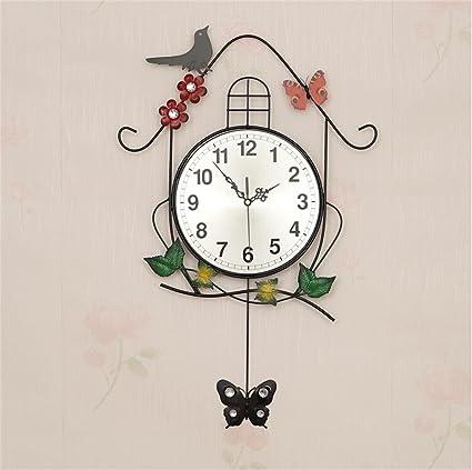 Hermoso reloj de pared de moda Reloj de pared de la personalidad creativa Salón Dormitorio Reloj