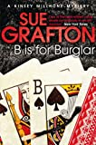 B is for Burglar by Sue Grafton front cover