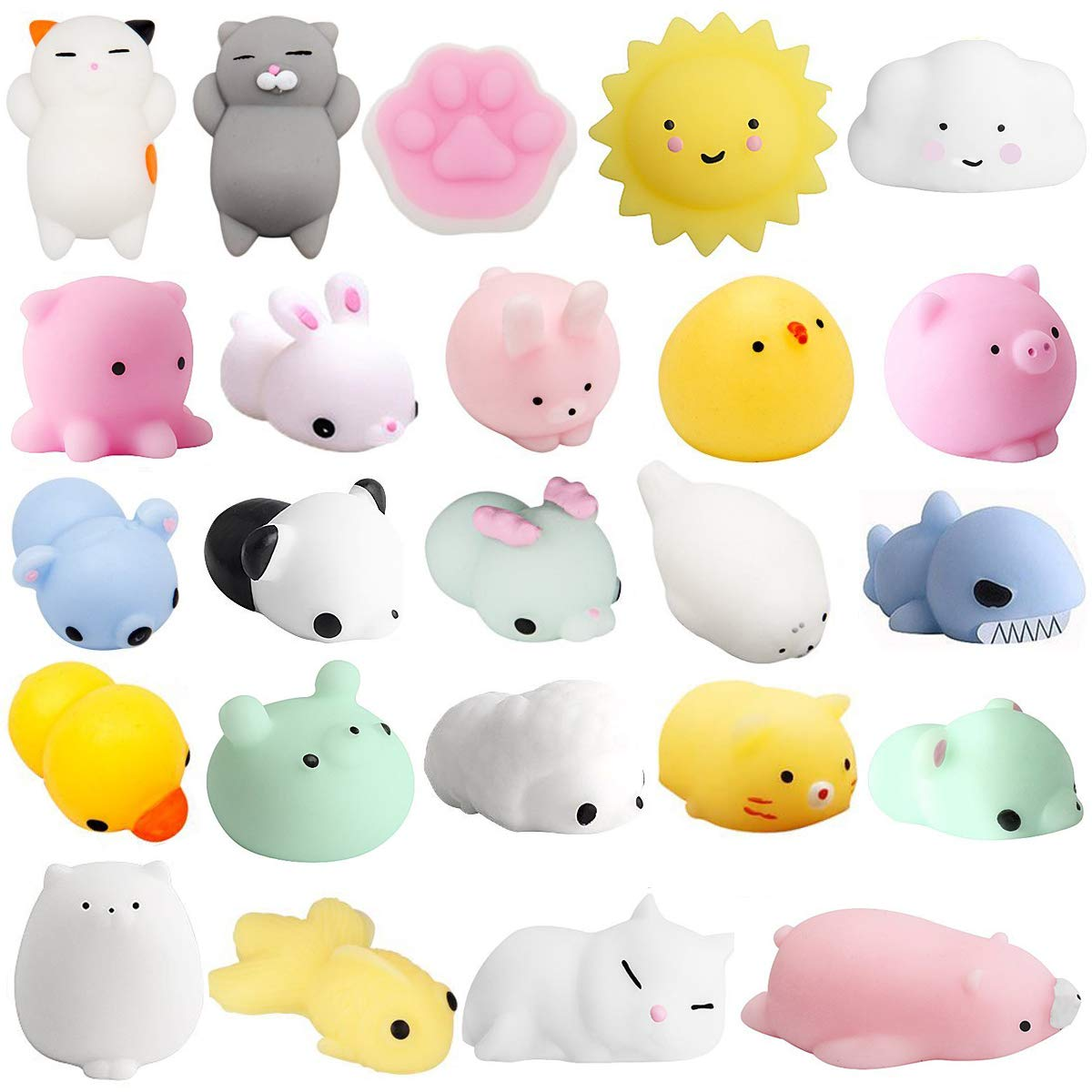 Amazon.com: Mochi Juguetes Squishy, Mini Cat Panda Animales ...