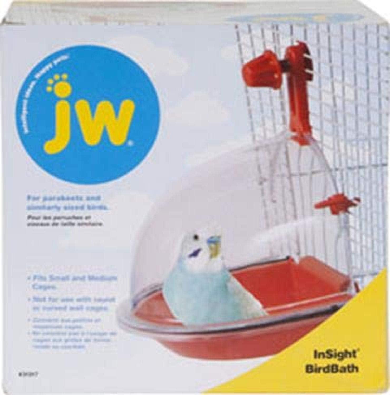 JW Pet Company Insight Bird Bath Bird Accessory : Finch Supplies : Pet Supplies