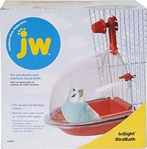 JW Pet Company Insight Bird Bath Bird Accessory