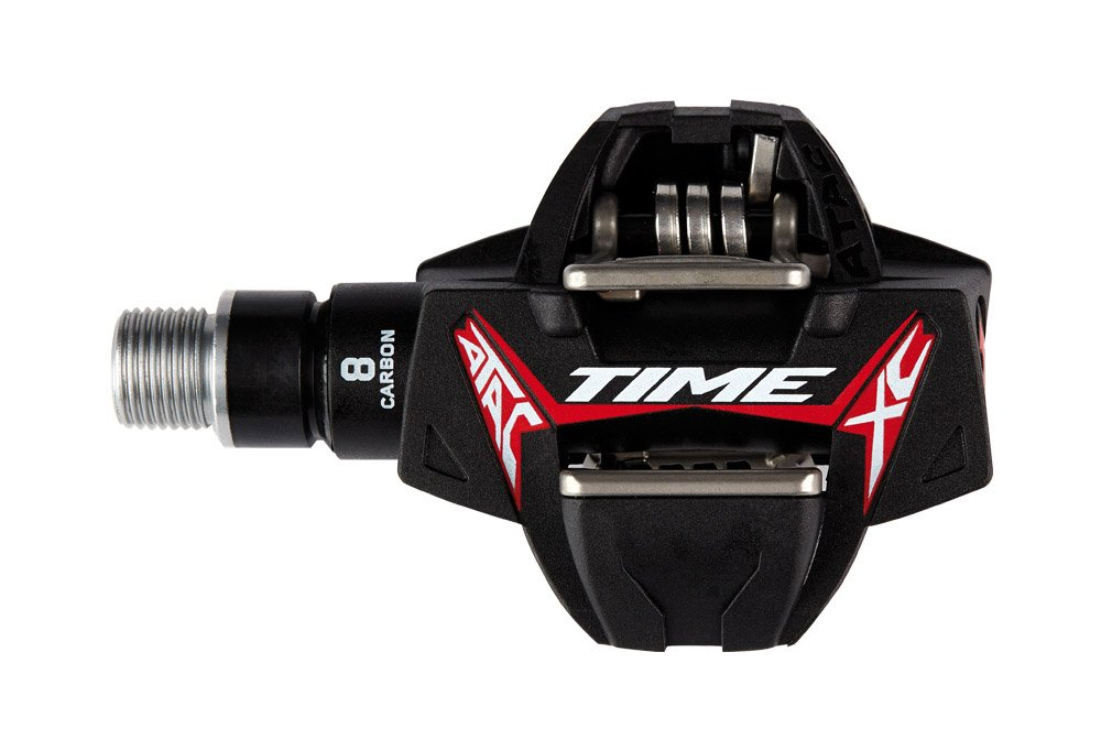 Time ATAC XC8 CARBON Pedals - black/red, one size