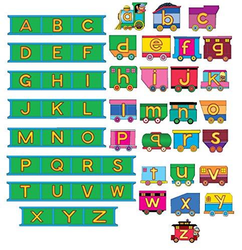 ABC Train & Tracks- Alphabet Felt Figures for Flannel/Bulletin Board