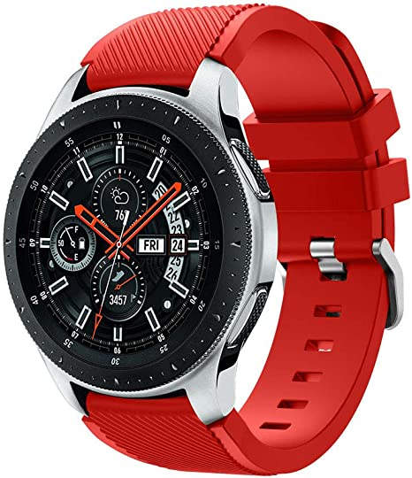 para Samsung Galaxy Watch 46mm Correa, Zolimx Silicona Suave ...