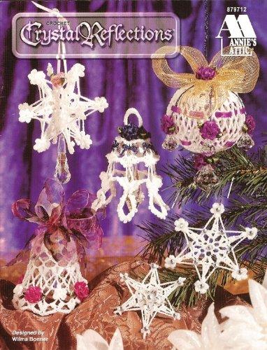 Crochet Crystal Reflections 13 Star Globe Bell Christmas Ornaments - Annie's Attic ()