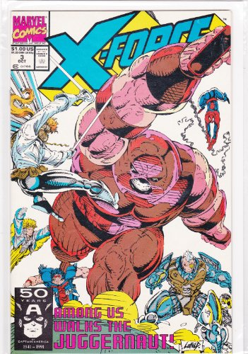 Used, X-Force Among Us Walks The Juggernaut! No. 3 Oct 1991 for sale  Delivered anywhere in USA