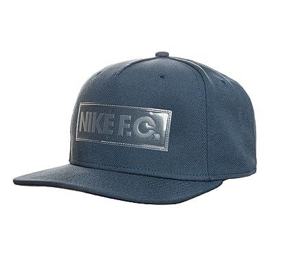 Nike U Nk FC True Cap Gorra de Tenis, Hombre, Azul Squadron Blue/