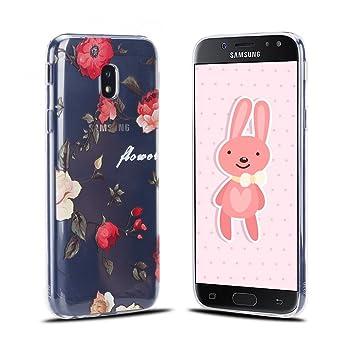 Funda Samsung J3 2017, RosyHeart Ultra Delgado TPU Goma ...