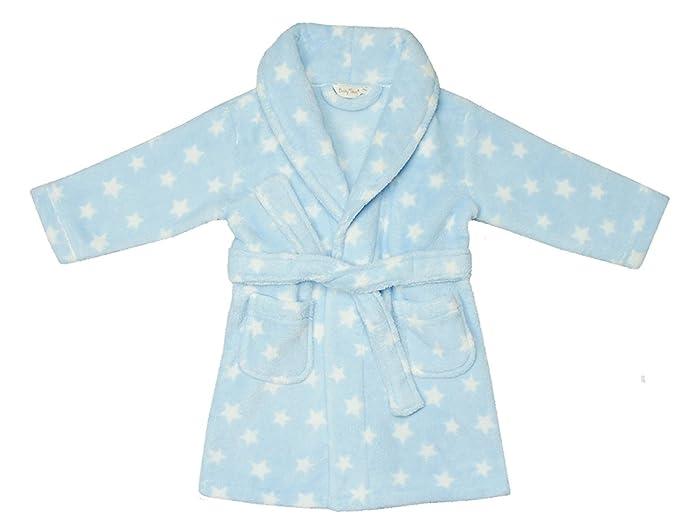 Bata para niñas súper suave con diseño de corazones Azul azul 6-12 Meses: Amazon.es: Ropa y accesorios