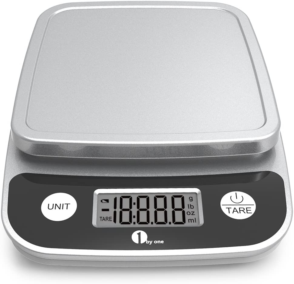 Amazon.com: 1byone Digital Kitchen Scale Precise Cooking Scale and ...