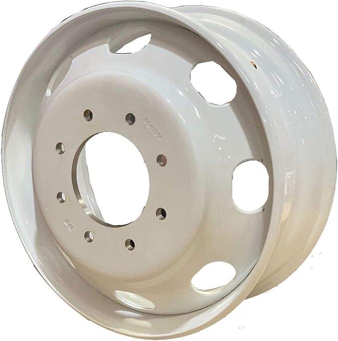 RAR wheels 19.5 X 6 ALUMINUM WHEELS FOR F F350 DUALLY PCD:8X170MM A196006 Aluminum Wheels Hub Pilot package 2pcs rear steel wheels 4pcs front