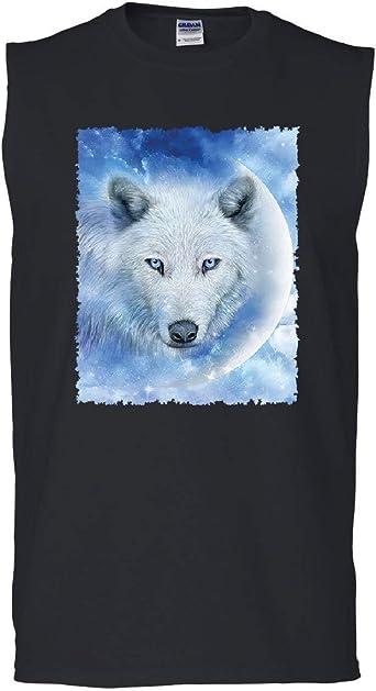 Wolf Howl Women/'s Tank Top Wild Wolf Pack Predator Animals Nature Moon Top