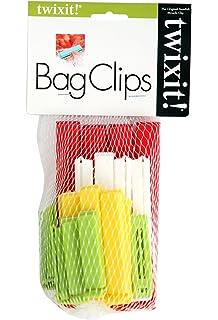 linden sweden twixit clip bag sealers set of 20 assorted - Bread Ties Color