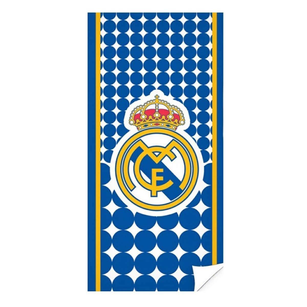 Azul Real Madrid RM171155 Toallas 70x140 cm