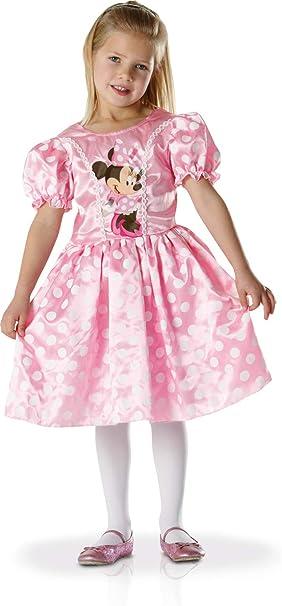 Disney - Disfraz de minnie para niña, talla 6 años (881892M ...