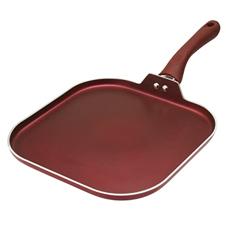 3. Ecolution Evolve Non-Stick Griddle Dishwasher Safe Limited Crimson Red