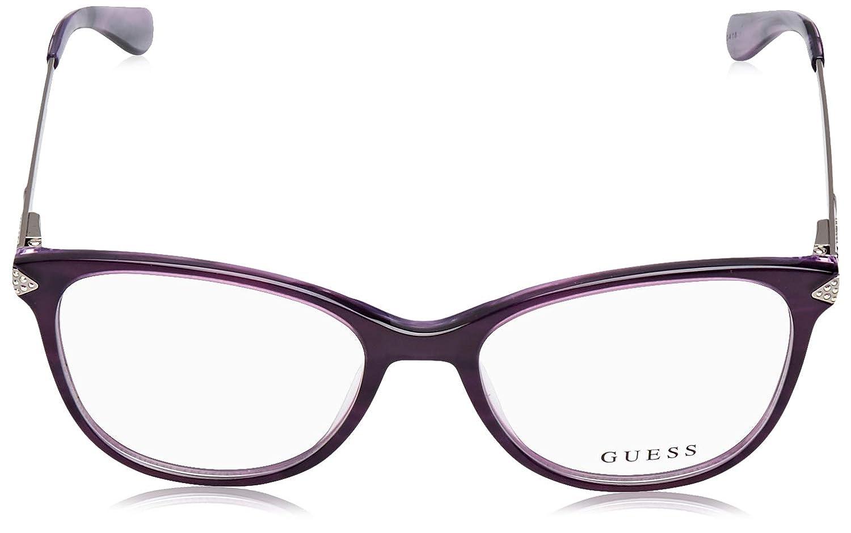 S 081 shiny violet Eyeglasses Guess GU 2632