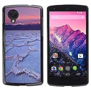 - Ocean Seas - - Monedero pared Design Premium cuero del tirš®n magnšŠtico delgado del caso de la cubierta pata de ca FOR LG Nexus 5 E980 D820 D821 Funny House
