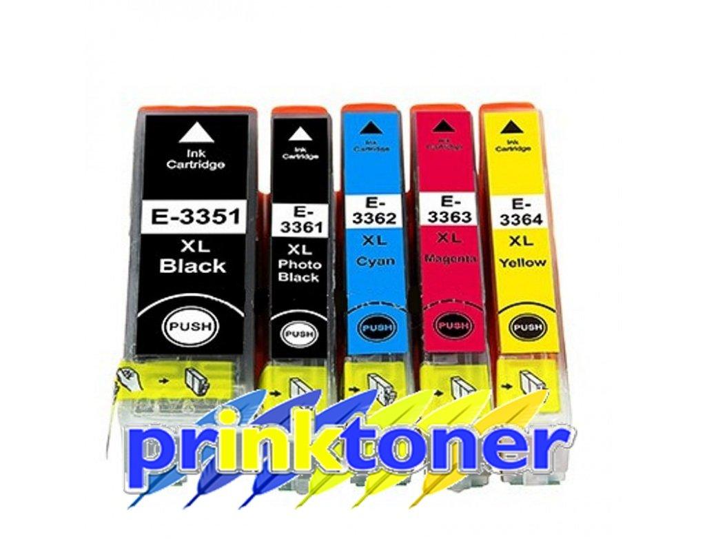 PRINKTONER 33 x l - Cartuchos de tinta equivalentes al juego de ...