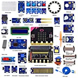 Adeept BBC Micro:bit Sensor Starter Kit | Microbit Programmable Starter Kit for Micro:bit with 35 Projects PDF Tutorial Book | Micro:bit and Expansion Board Included