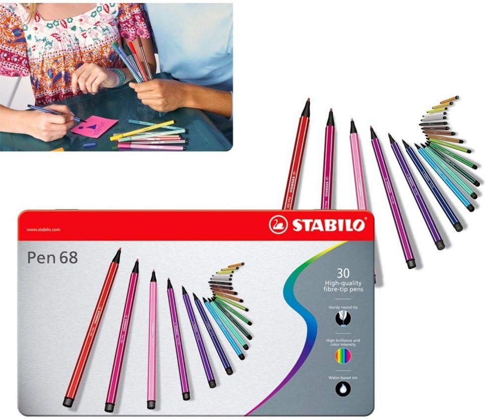 Rotuladores STABILO mod. Pen 68 (Pack de 30 piezas en surtidos ...