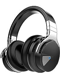 COWIN E7 Active Noise Cancelling Headphones Bluetooth Headphones with Mic Deep Bass Wireless Headphones Over Ear...