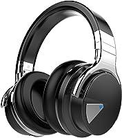 COWIN E7 Active Noise Cancelling Headphones Bluetooth Headphones with Microphone Deep Bass Wireless Headphones Over Ear,...