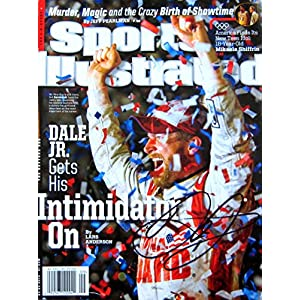 Dale Earnhardt Jr. NASCAR autographed Sports Illustrated Magazine 3/3/14