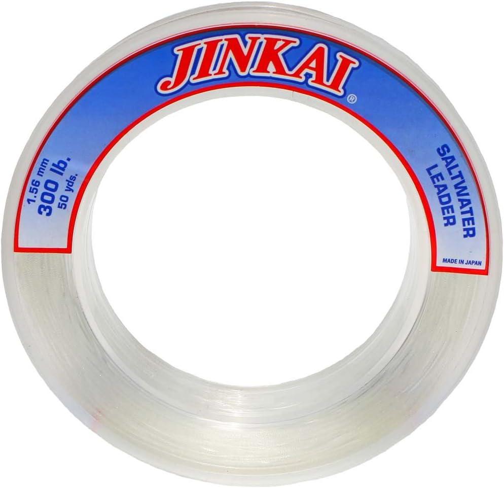 Crystal Clear Jinkai Premium Monofilament 100yd Spool 6lb-130lb