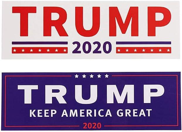 Greework Trump Aufkleber Sticker 2 Stück Im Set Größe 23x8cm Auto