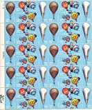 US Stamps - 1983 Balloons on Stamps - 40 Stamp Sheet - Scott #2032-5 by USPS
