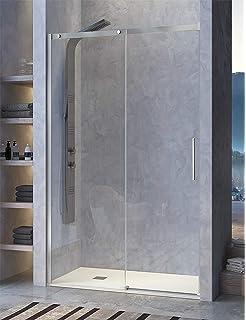 Mampara de ducha Basic de fijo y corredera - Anti cal de serie ...