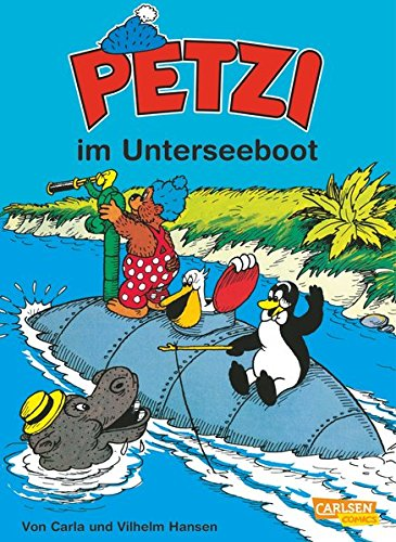 Petzi, Bd.20, Petzi im Unterseeboot