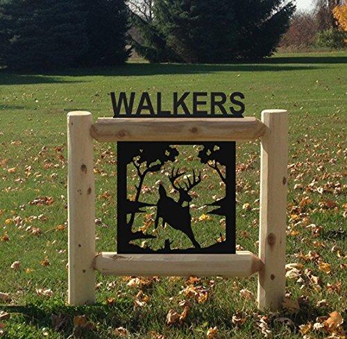 Amazon.com: clingermans Deer Sign – Deer 151510 – 2: Sports ...