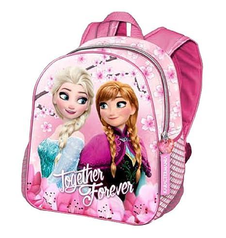 720b95b42e Zaino scuola Asilo Frozen Anna ed Elsa con Fiori - ZAINI SCUOLA Nuovi  Modelli
