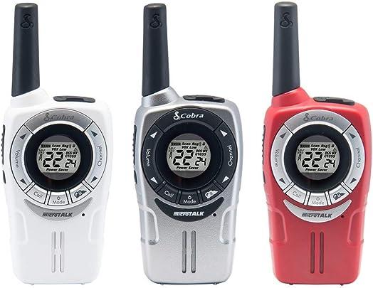 Cobra ACXT360 23 Mile 2-Way Radio Walkie Talkie 3 Pack