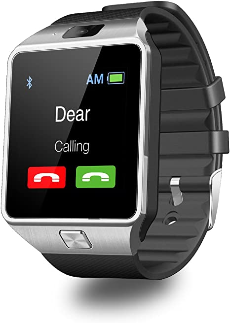 DZ09 Smart Watch Android Sim Card Slot Smartwatch with TF Card Camera by Heshi Inc